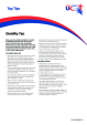 Disability Top Tips Factsheet