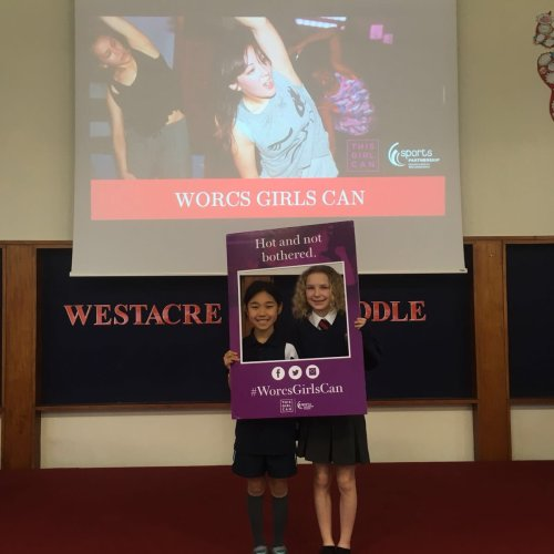 'Worcs Girls Can' campaign gets Worcestershire girls moving