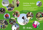 Getting Active Outdoors