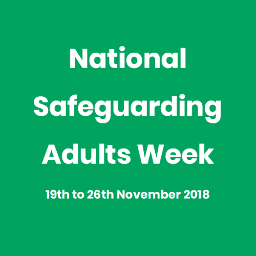 National Safeguarding Adults Week