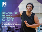 Menopause Me And Physical Activity