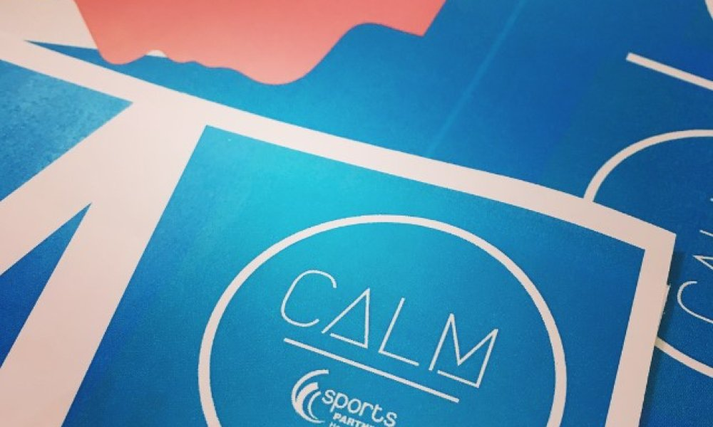 Encouraging an open culture around mental health - CALM pledge is now live