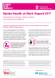 Business in the Community - Mental Health at Work Report 2017