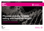 Business in the Community - Public Health England Physical Activity, Healthy Eating, Healthier Weight Toolkit 2018