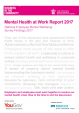 Business in the Community mental Health At Work Report 2017