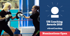 Nominate for UK Coaching Awards to showcase the diversity of coaching