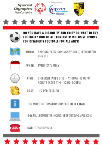 Leominster Inclusive Sports Football