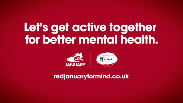 We're Joining #REDJanuary to beat the winter blues!