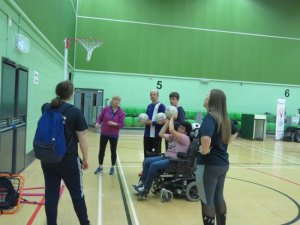 Sports taster session for local youngsters with disabilities