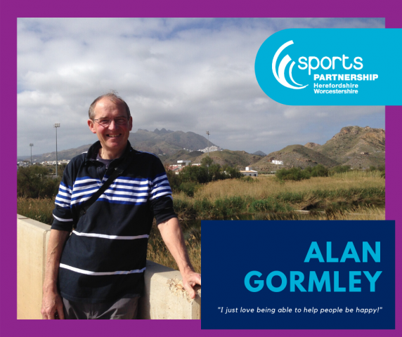 """It is so rewarding!"" Alan Gormley, an Inspiring Leader"