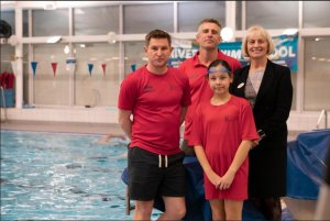 Para-swimming boost in Evesham