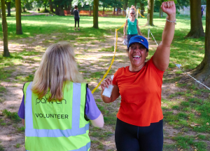 Help us celebrate female participation for #IWDparkrun