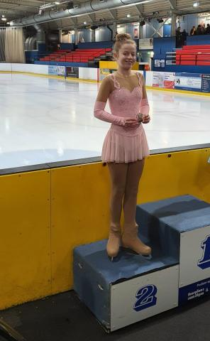 Cydney's Skating Success