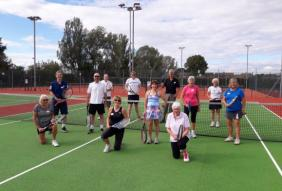 New walking tennis sessions launched in Worcestershire