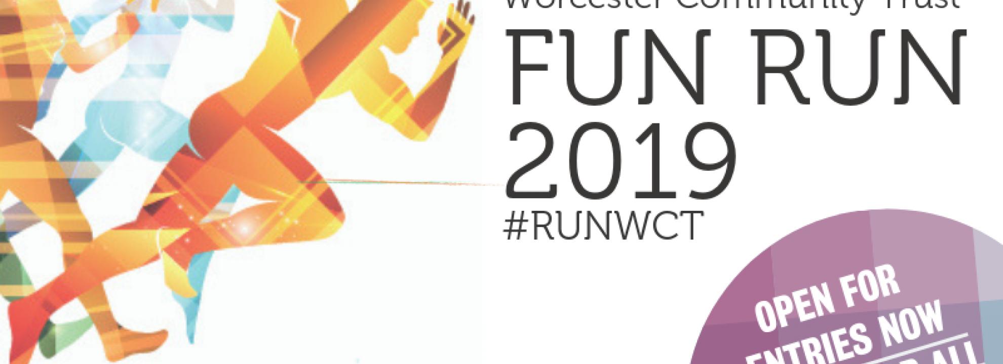 WCT Charity Fun Run Banner