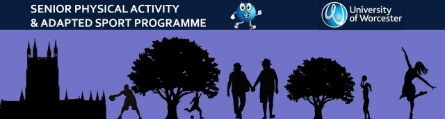 Senior Physical Activity and Sport Programme Banner